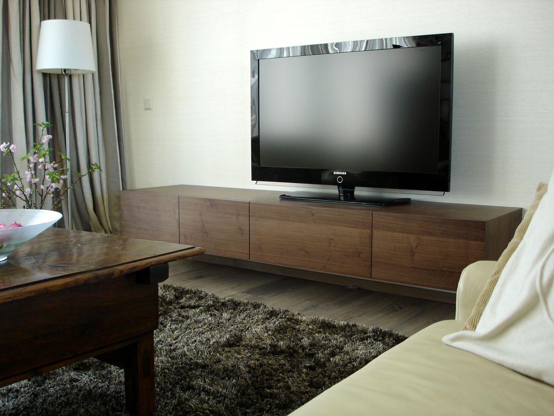Hoofddorp hangend hifimeubel for Tv meubel kleine ruimte