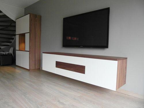 Kast Wit Hout : ≥ tv kast meubel acacia wit hout kasten tv meubels