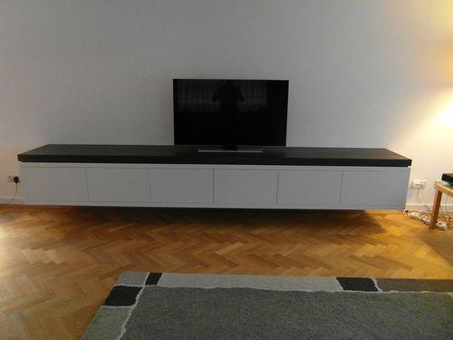 Tv Kast Muur.Hangend Tv Meubel Den Haag