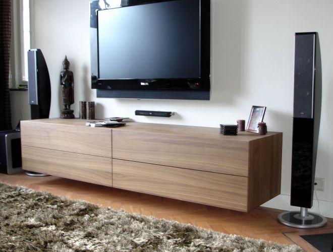 Bovenkarspel hangend hifi meubel for Hifi meubel